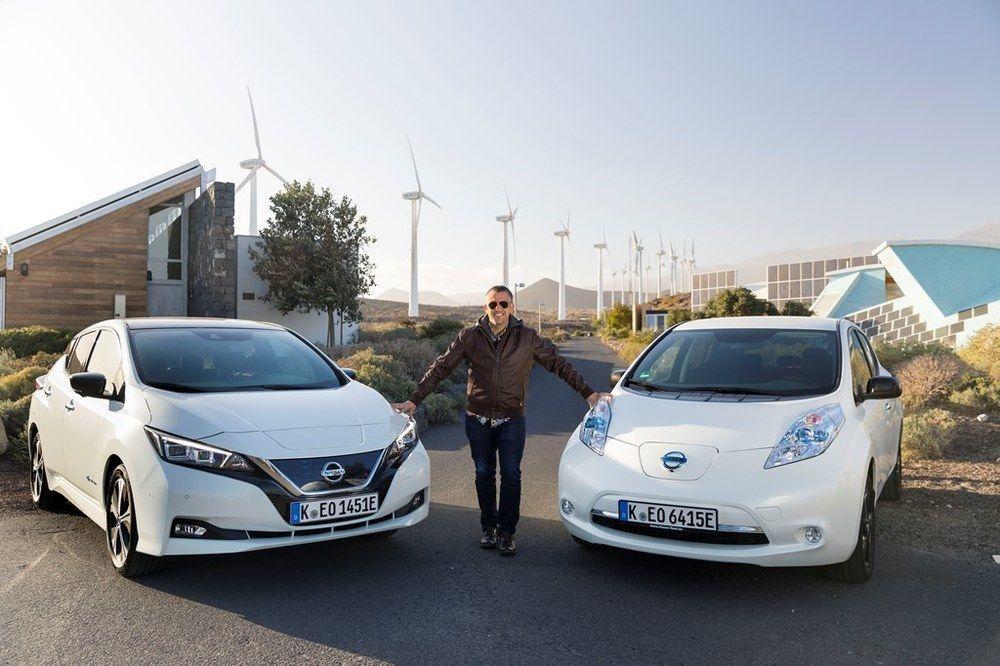 Nissan Leaf old vs new