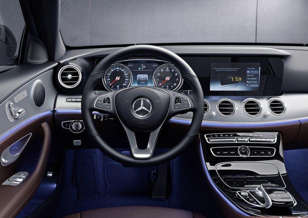 Mercedes benz E Class Interior 2018