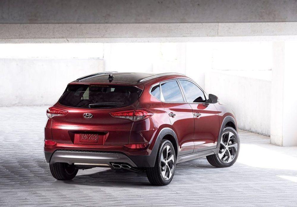 Hyundai Tucson 2018 Rear