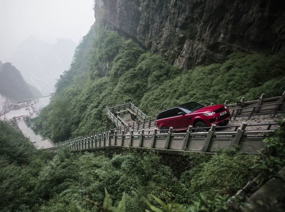 Range Rover Sport 2018 China Heaven's Gate
