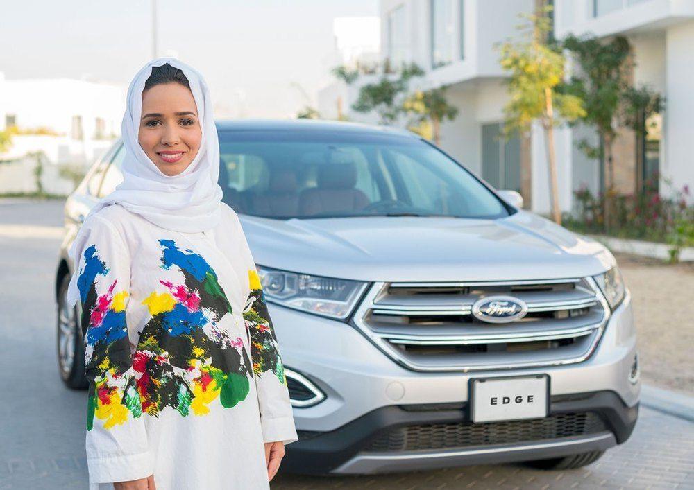 Ford Saudi Arabia Women Driving