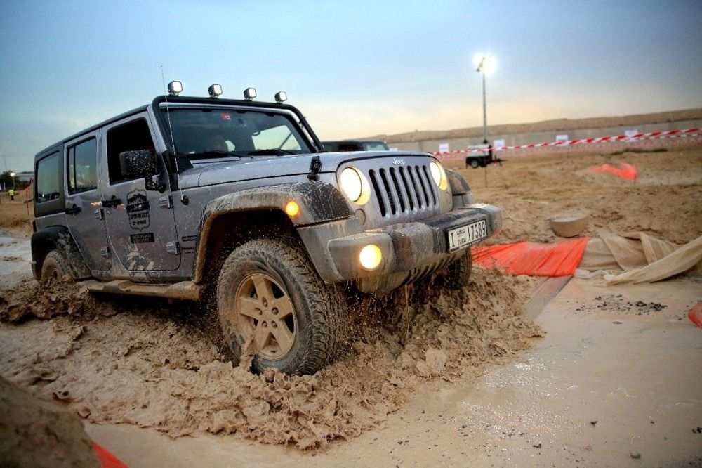 Jeep Wrangler 2018 Adventure Days Dubai