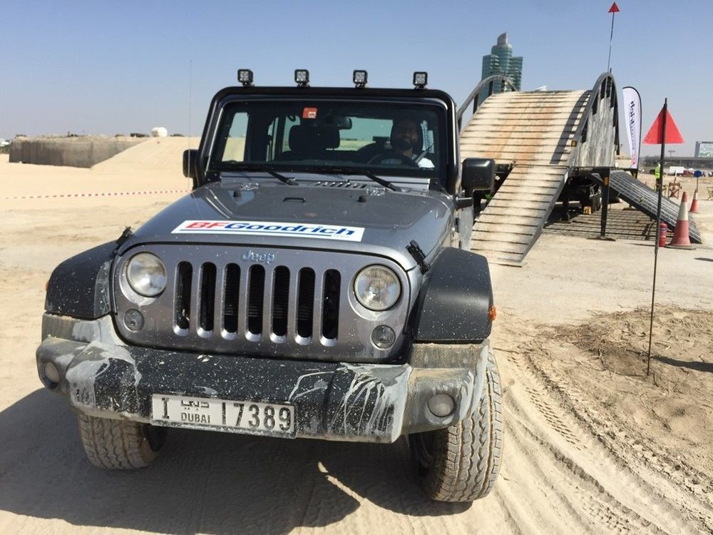 Jeep Wrangler 2018 Adventure Days UAE
