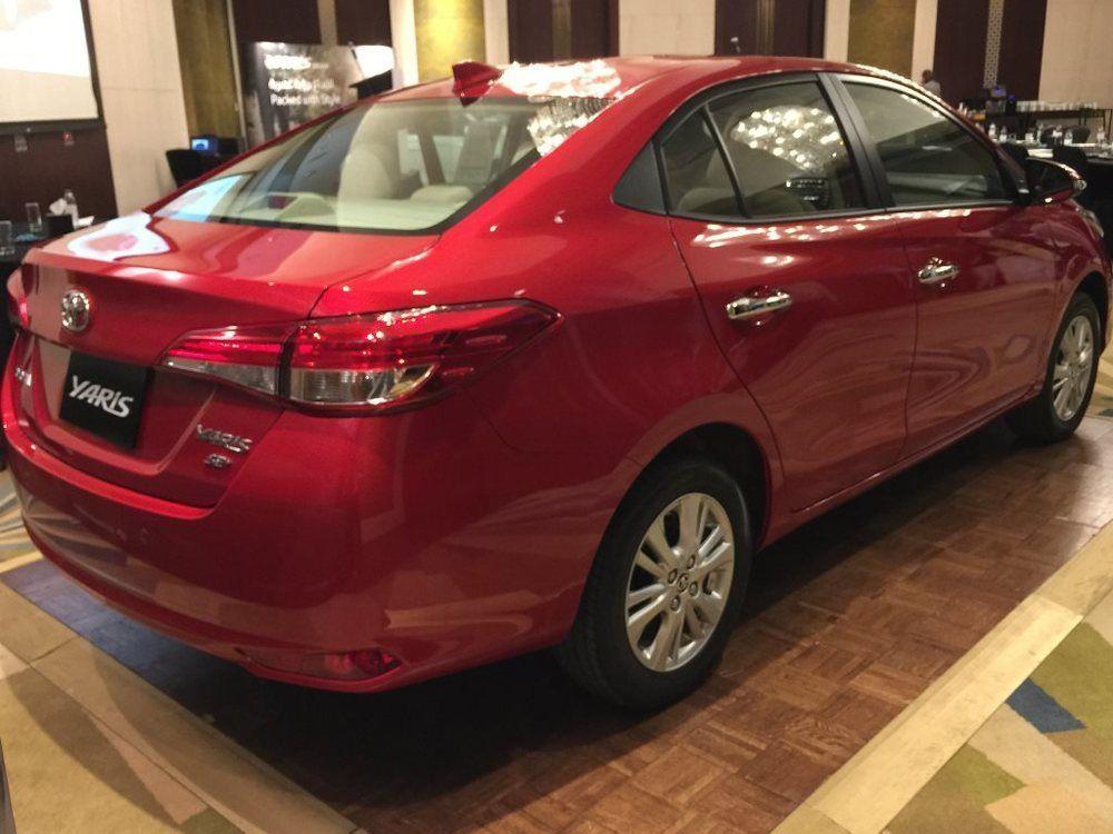 Toyota Yaris 2018 Rear