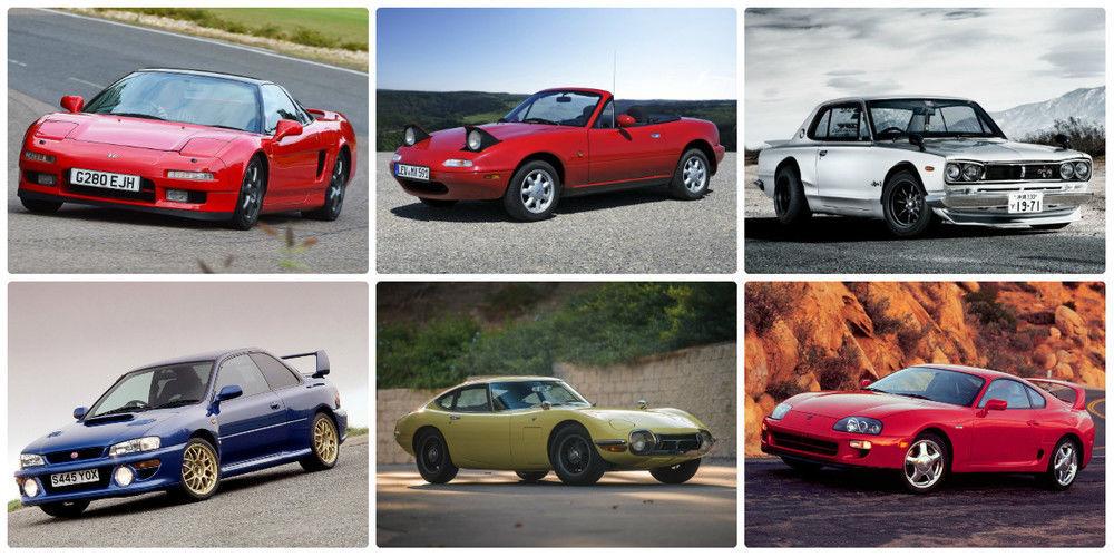 Iconic Japanese Cars