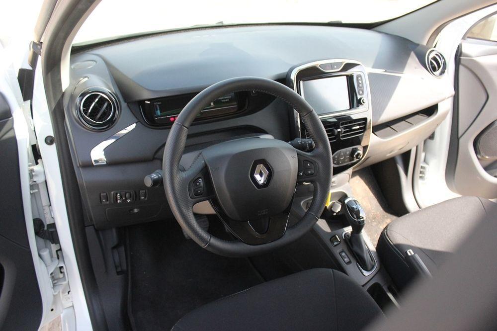 Renault Zoe 2018 Interior