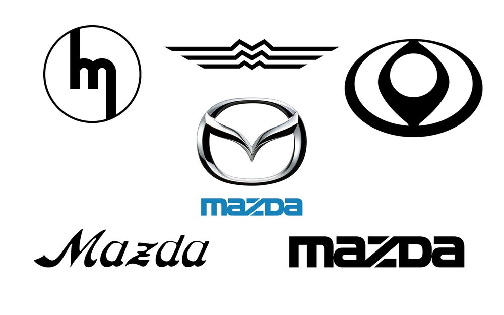 Mazda Logo Collage