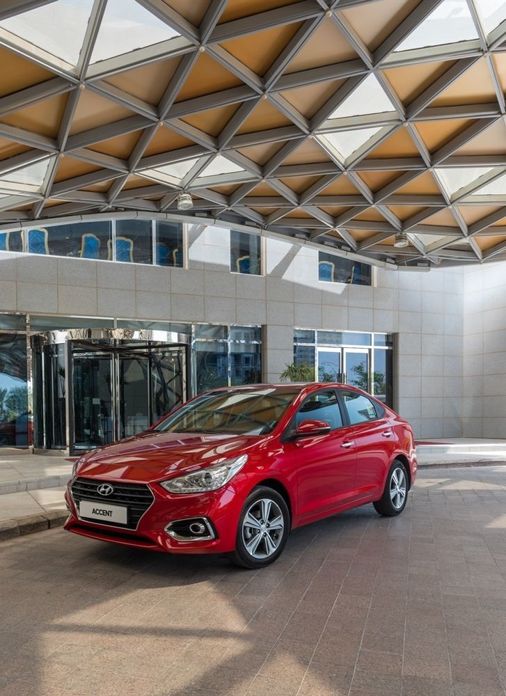 Hyundai Accent 2018 Front