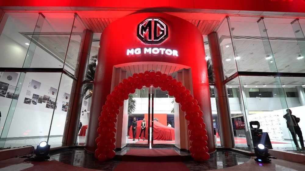 MG Motor opens new showroom in Dubai | UAE - YallaMotor