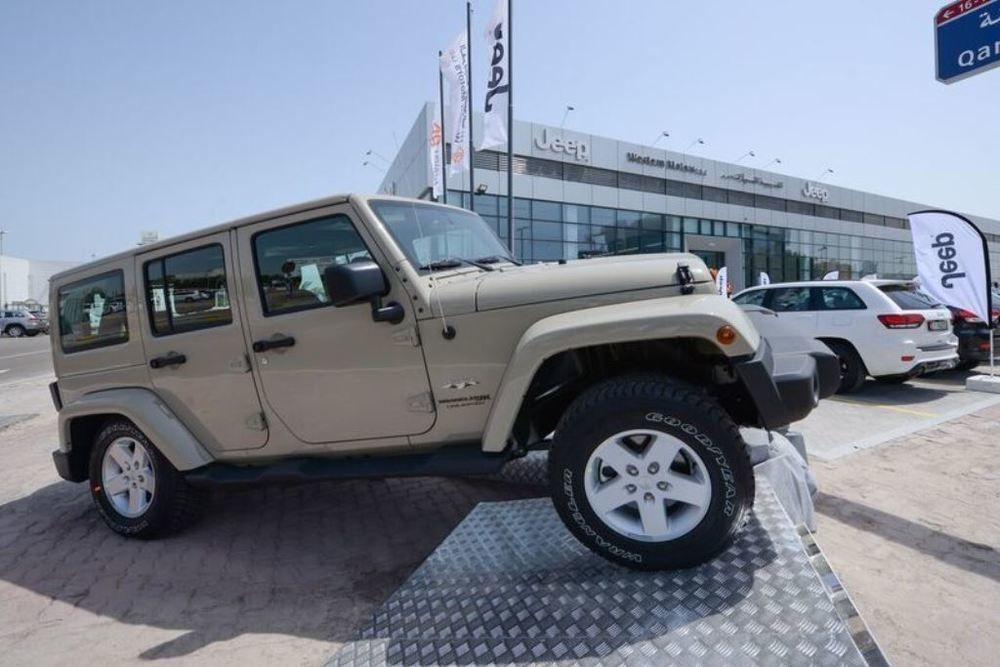 Jeep Facility Western Motors Abu Dhabi