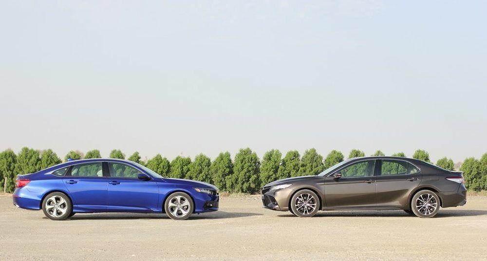 Honda Accord vs Toyota Camry 2018