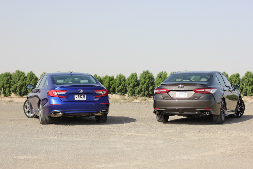 Honda accord 2018 vs toyota camry 2018 review qatar for Honda vs toyota reliability