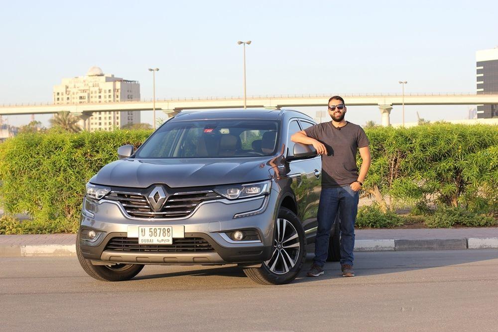 Renault Koleos 2018 Front
