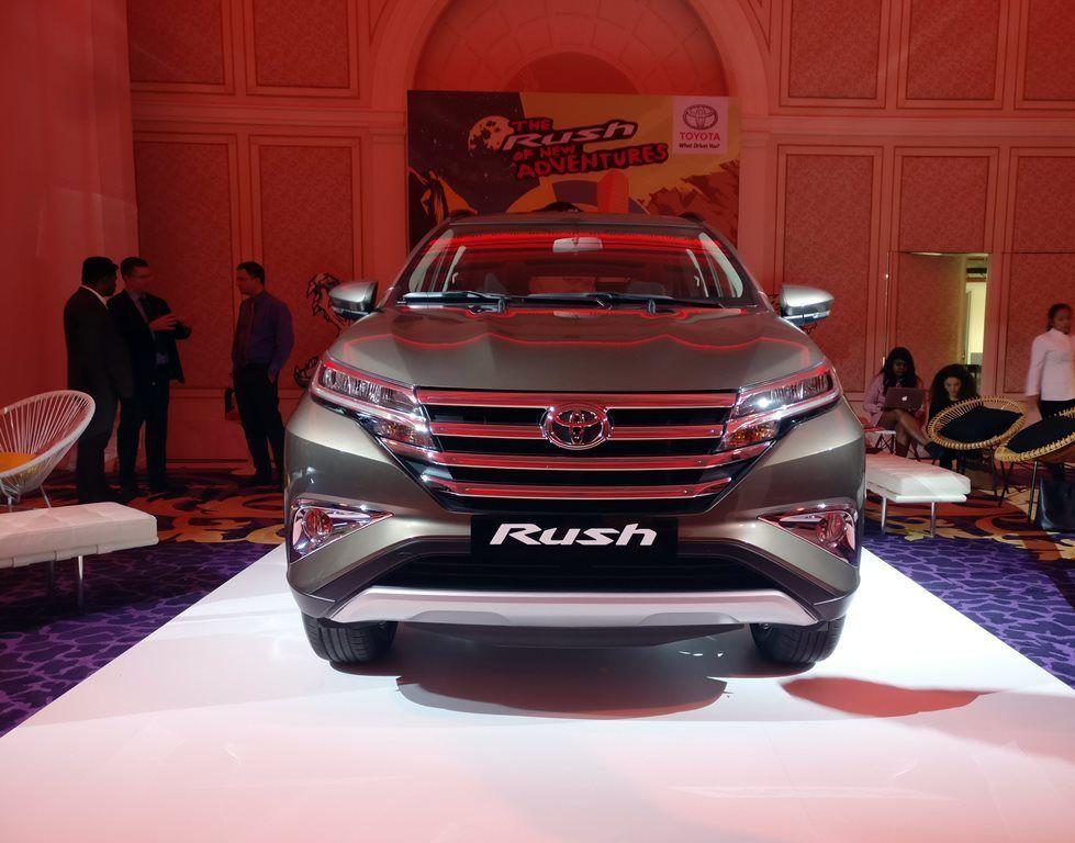toyota rush suv launched   uae uae yallamotor