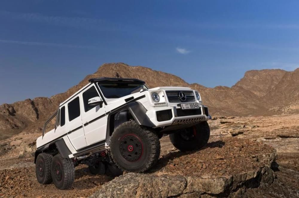 GCC Spec Mercedes 6x6