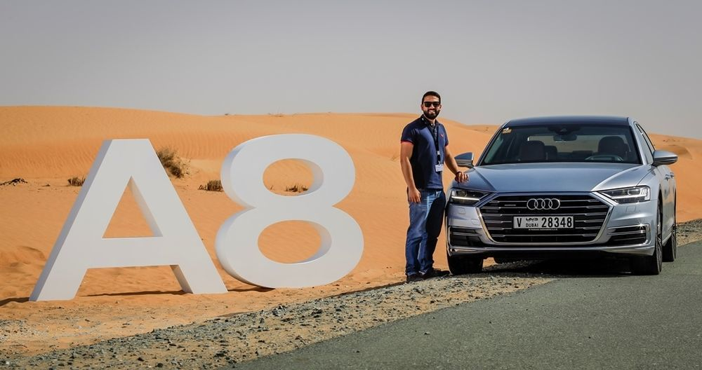 Audi A8 2018 launch UAE