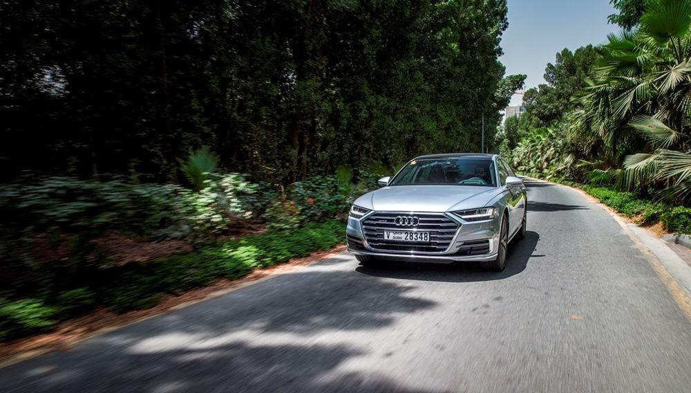 Audi A8 2018 Driving