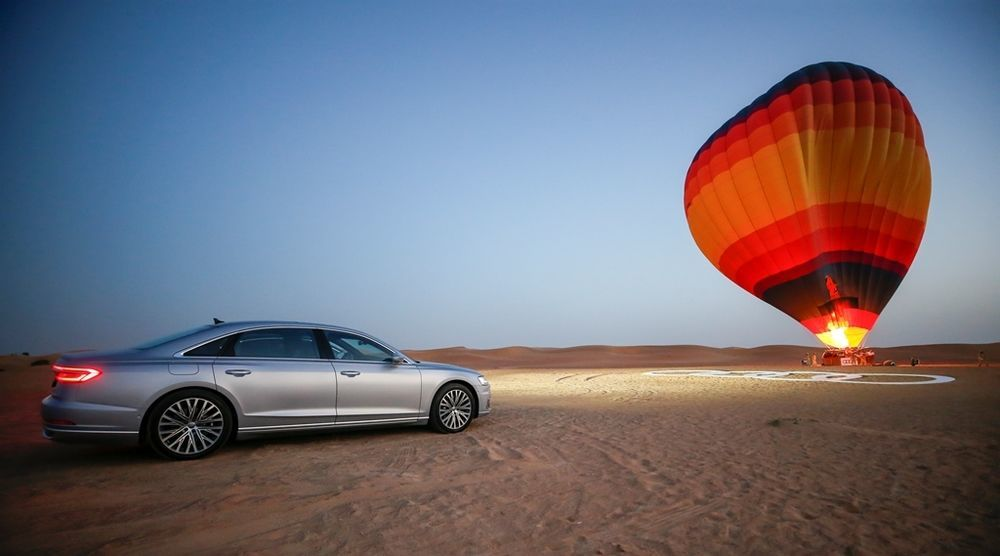 Audi A8 2018 Hot Air Balloon Ride