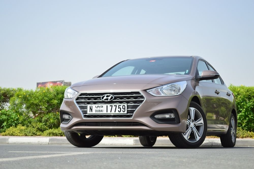 Hyundai Accent 2018 Front - 2