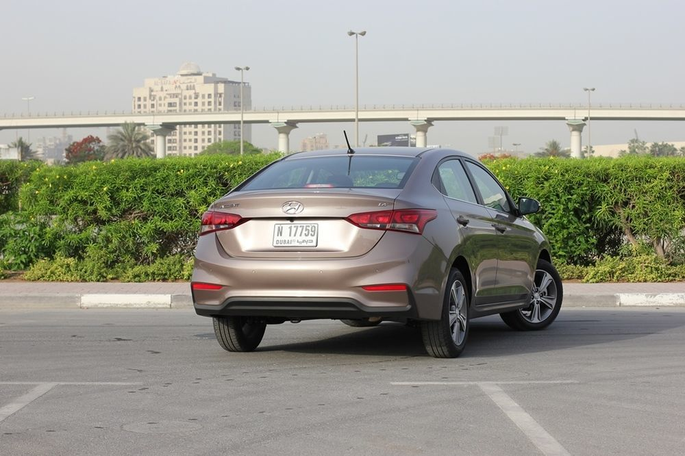 Hyundai Accent 2018 Rear
