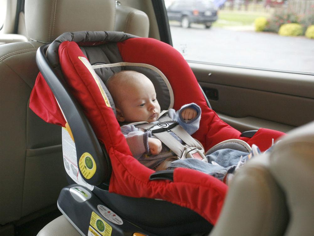 Child in hot car