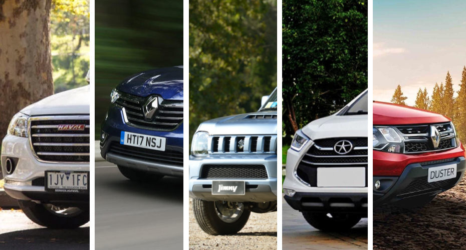 Top 5 Low Cost Suvs In The Uae Egypt Yallamotor