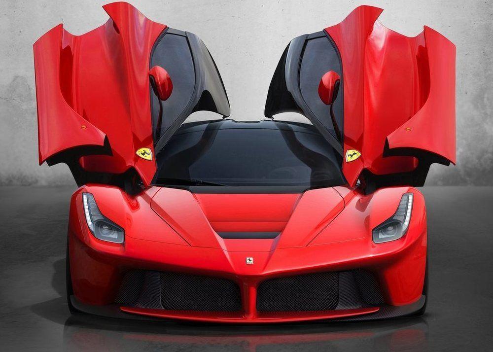 Ferrari LaFerrari doors open front