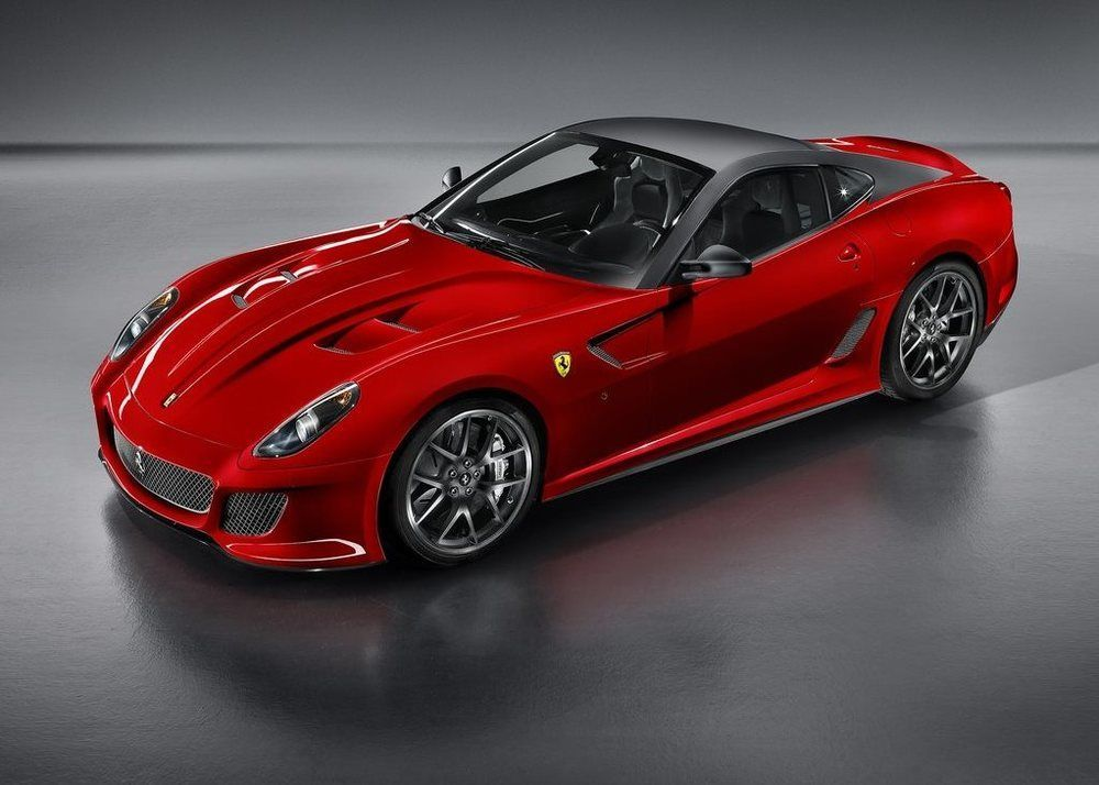 Ferrari 599 GTO front third