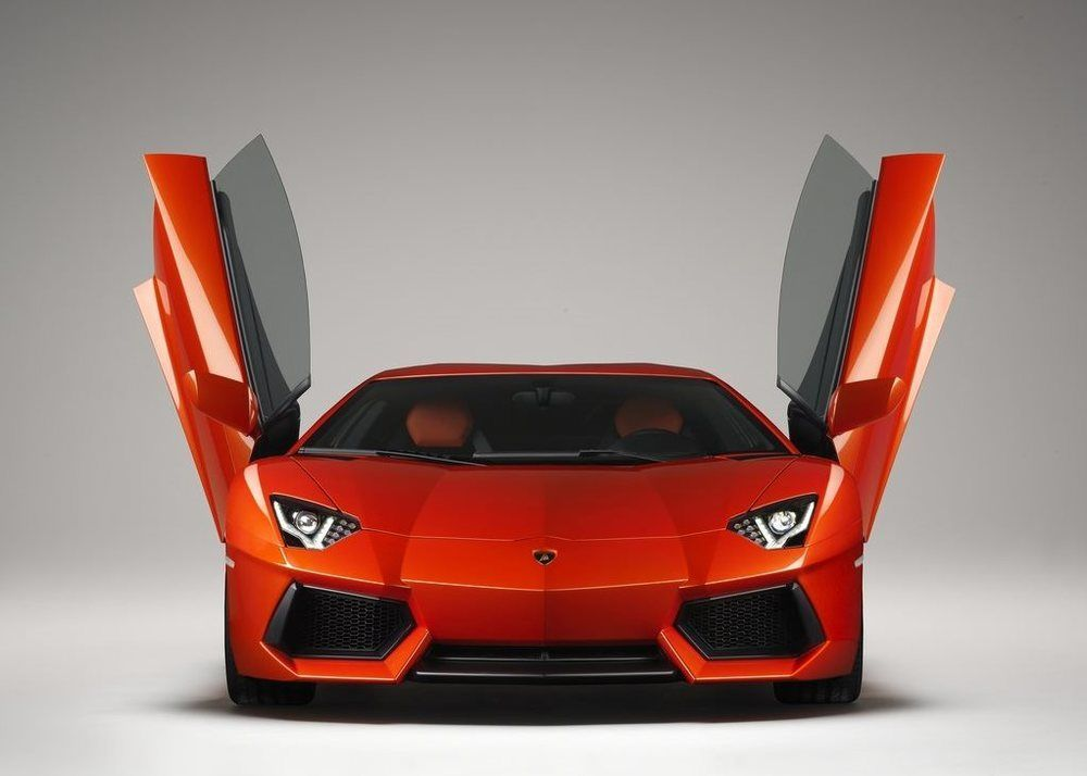Lamborghini Aventador front doors open
