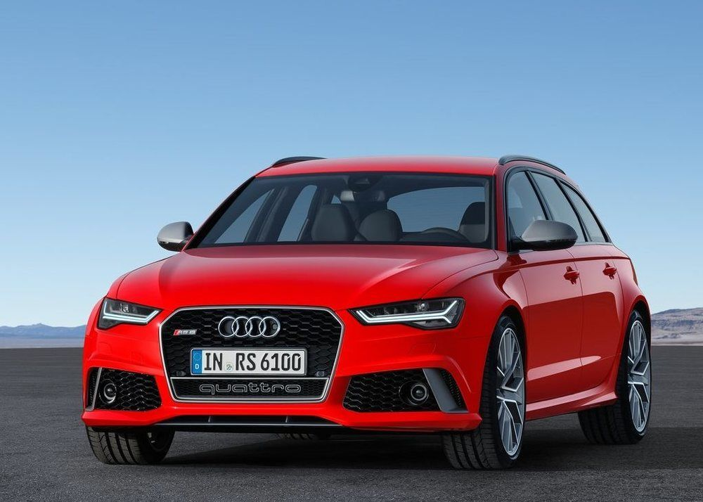 Audi RS6 Avant Performance front third