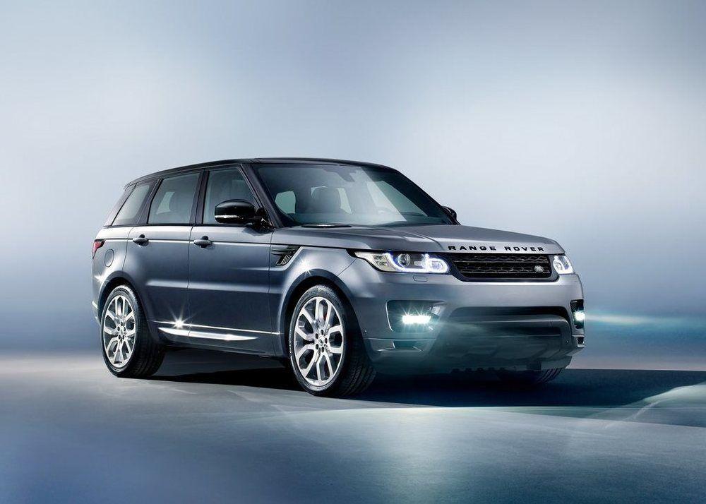 Land Rover Range Rover Sport front third