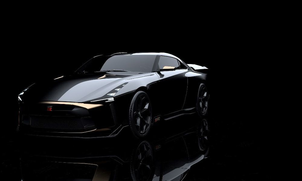 Nissan GT R50 Italdesign Front