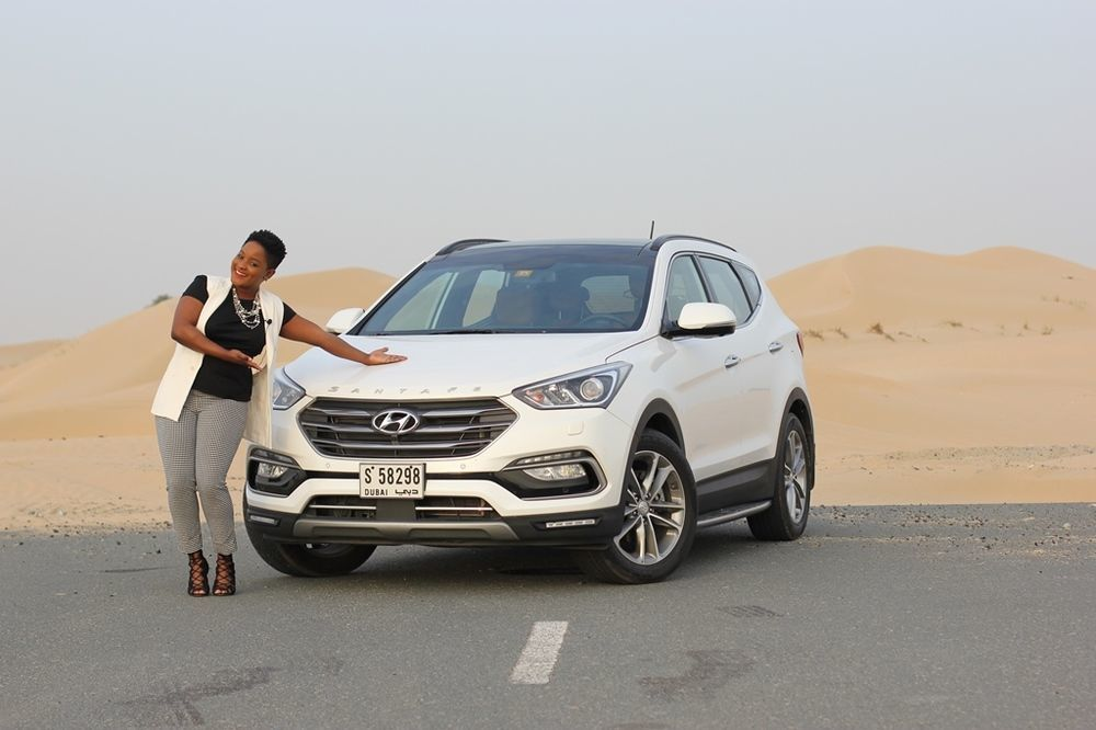 Hyundai Santa Fe 2018 Front