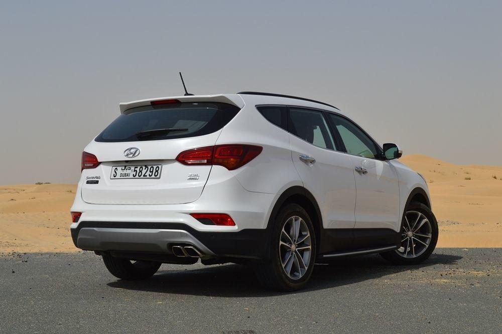 Hyundai Santa Fe 2018 Rear