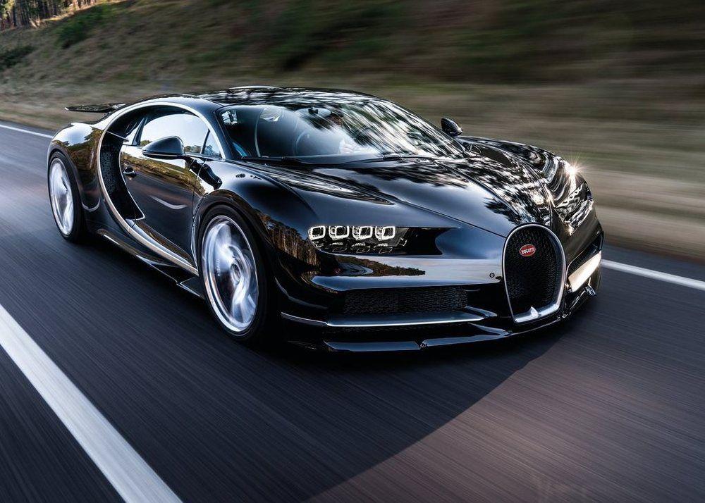 Bugatti Chiron front right
