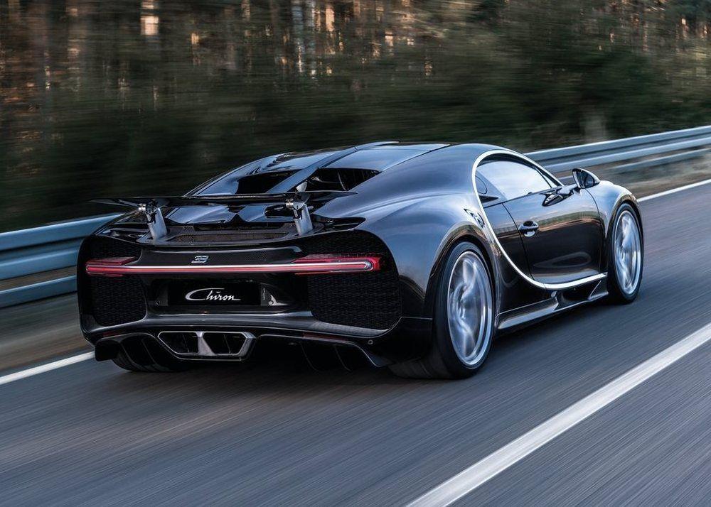 Bugatti Chiron rear right