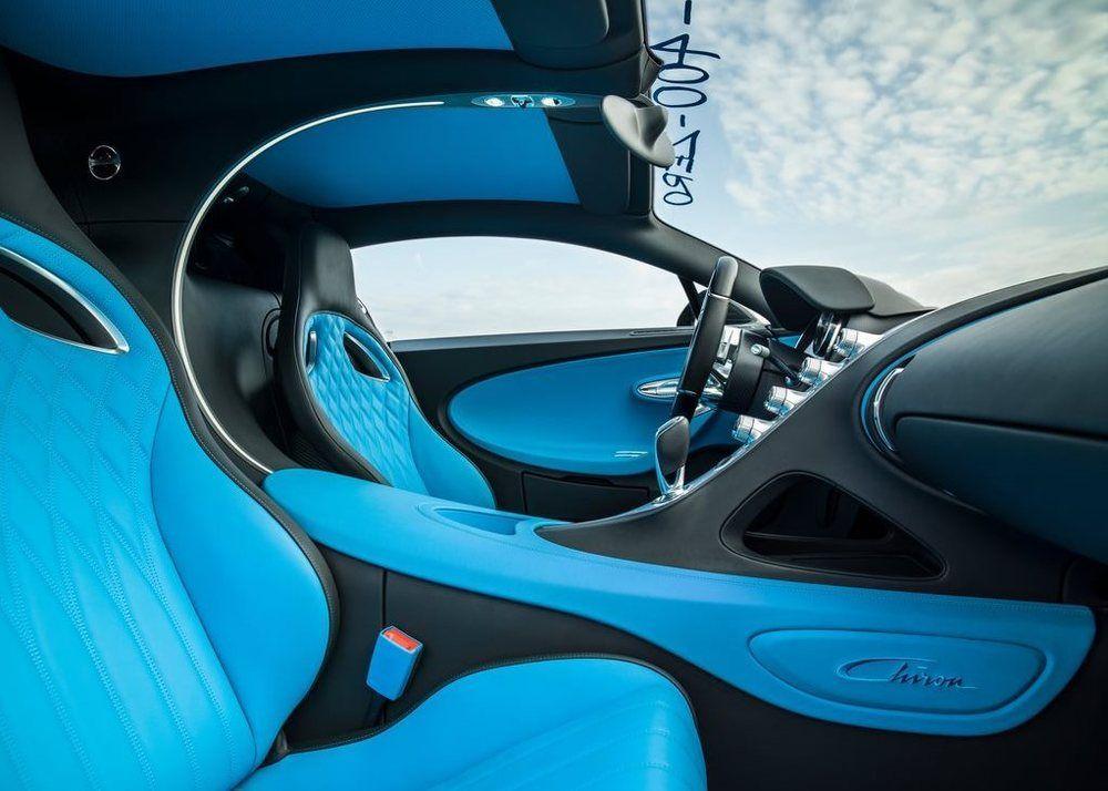 Bugatti Chiron cabin