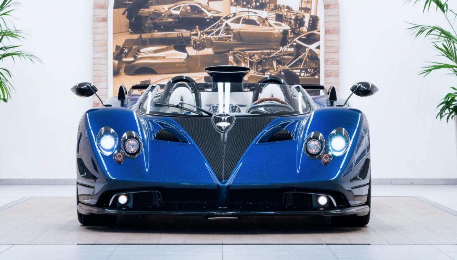 Meet The 17 5 Million Dollar Pagani Zonda Hp Barchetta Egypt Yallamotor