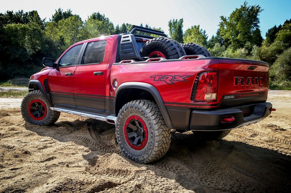 RAM Rebel TRX Concept rear left side