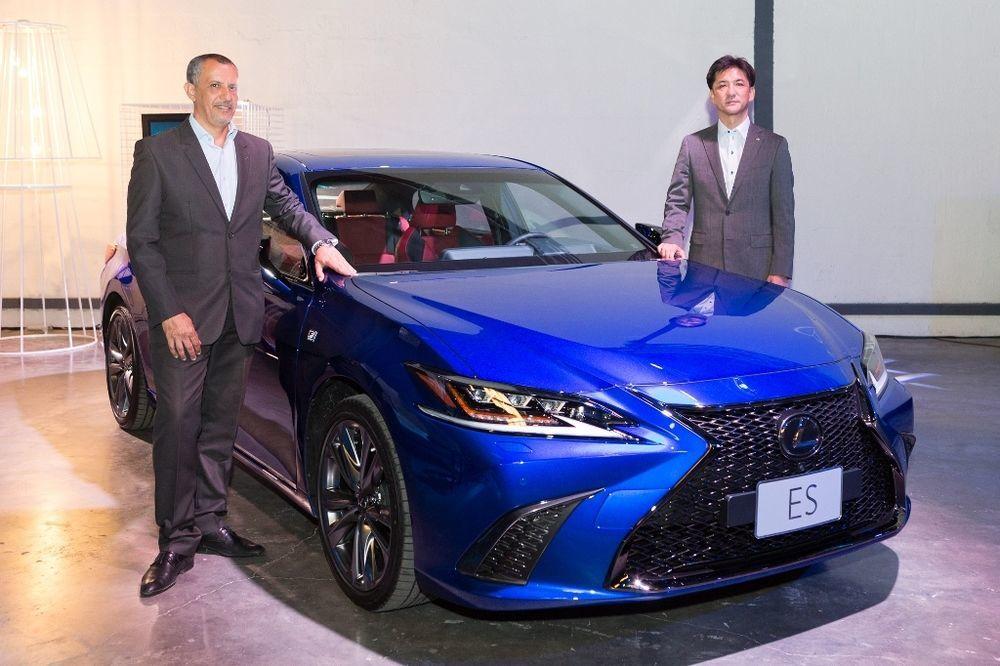 Lexus ES Launch UAE