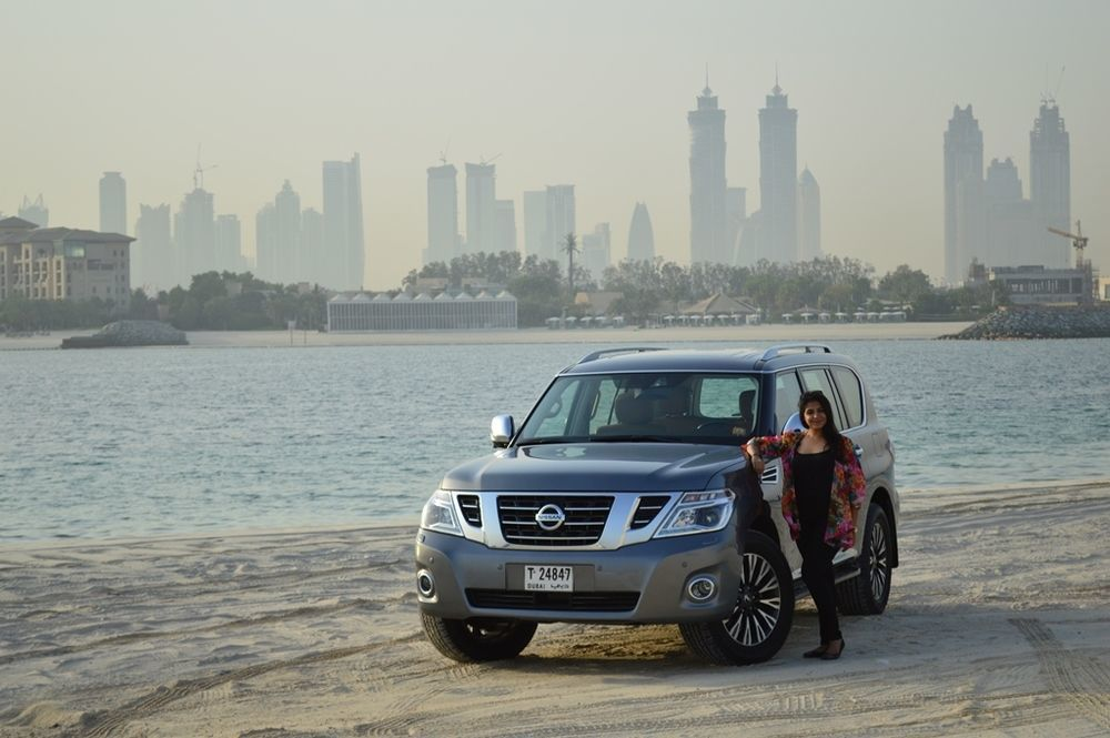 Nissan Patrol 2018 Front