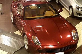 Auction Of Ferrari 2008 Car In Sinopoli