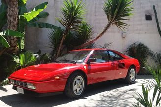 Auction Of Ferrari 1990 Car In Portici