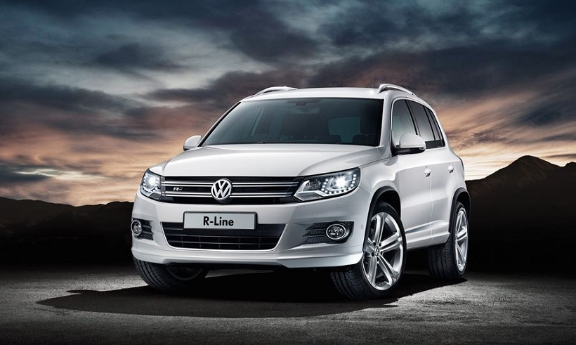 volkswagen tiguan 2014 2 0l track and style in uae new. Black Bedroom Furniture Sets. Home Design Ideas