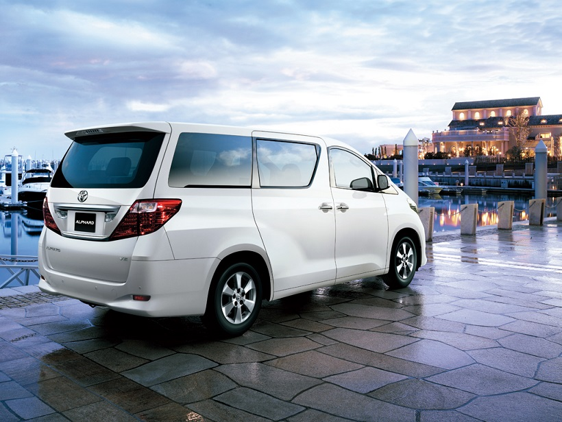 Car Pictures List For Toyota Alphard 2014 Luxury Mpv Uae
