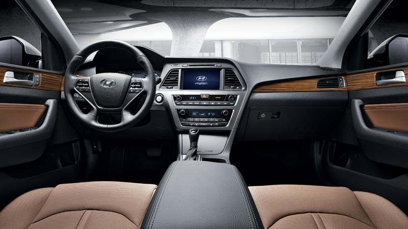Car pictures list for hyundai sonata 2015 2 4l top qatar - 2015 hyundai sonata interior pictures ...