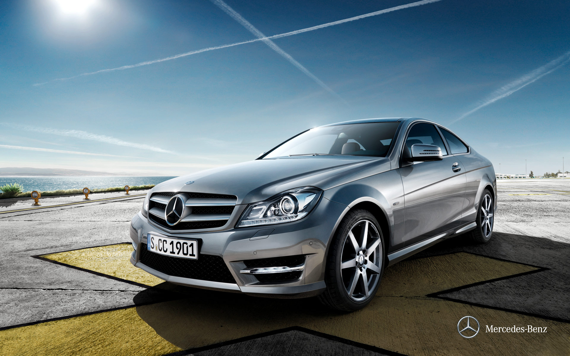 Service manual how does cars work 2012 mercedes benz c for Mercedes benz c class service b