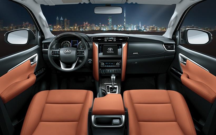 Toyota Fortuner Interior