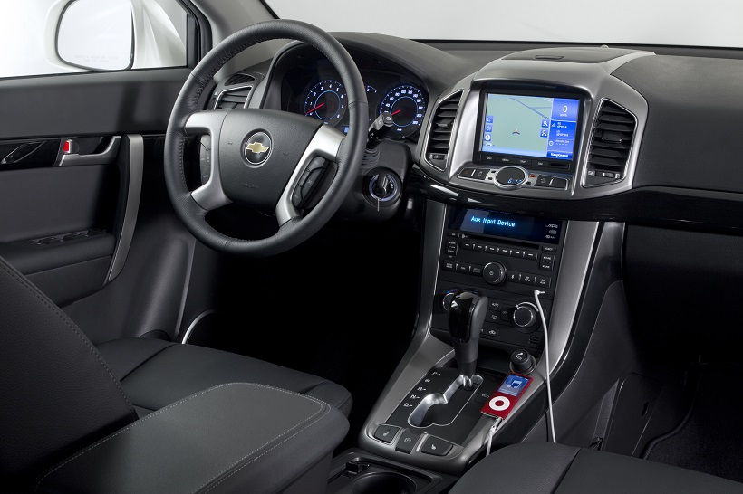 Chevrolet Captiva 2016 24l Lt Awd In Oman New Car Prices Specs