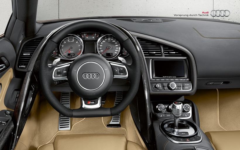Audi R Spyder Interior